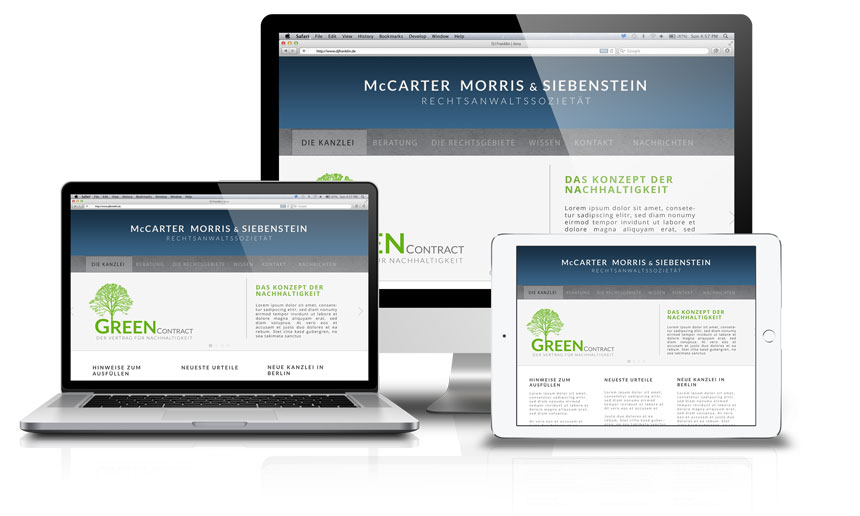 Kanzleiwebsite